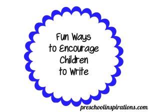 Writing in Preschool
