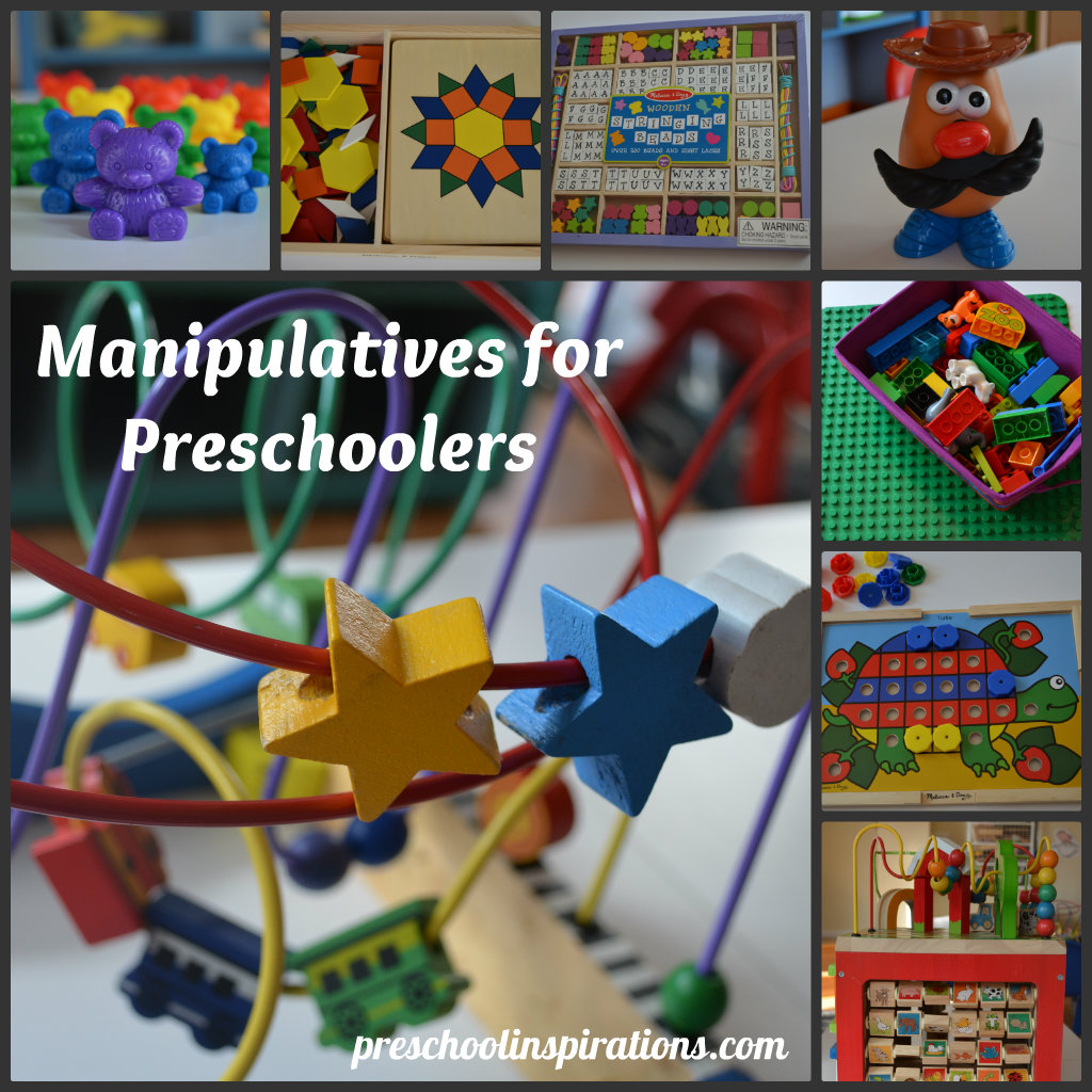 Manipulative Educational Toys : Preschool inspirations the world is their playground
